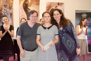 Louis Babin, Hildegarde Fresneau (Prix spécial pièce contemporaine et 2e prix ex æquo) et Marie Cantagrill